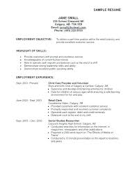 Resume Ideas For Objective – Resume Sample Directory