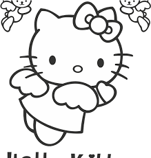 Download transparent hello kitty png for free on pngkey.com. Download Hello Kitty Logo Vector Fictional Character Format Angel Hello Kitty Coloring Pages Png Image With No Background Pngkey Com