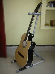 make your own p v c guitar stand