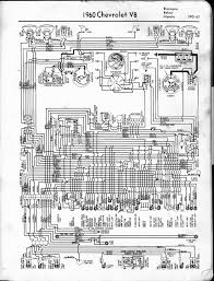 1960 chevrolet wiring diagrams v8 and l6 engines gm wiring diagrams online Chevrolet Wiring Diagrams #22