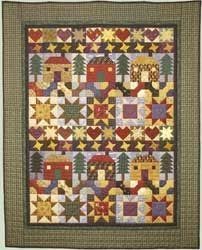 17 Best images about häuser on Pinterest | Wool, Quilt and The ... & Big Horn Quilts is offering several free stashbuster patterns that are  perfect for the stash / scrap quilter. While you're there, check out. Adamdwight.com