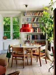 victorian house furniture. Orange Retro Lamp Above A Mid Century Dining Table In Cottage Victorian House Furniture S