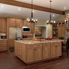 Kitchen With Dark Cabinets And White Quartz Counters - Cypress kitchen cabinets