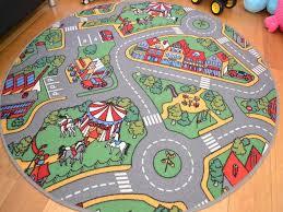 image of large kids circle rug