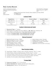 Resume Undergraduate resume Resumes For College Students 100 83