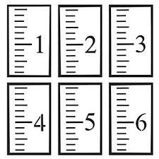 Amazon Com Foonee 6 Feet Growth Chart Stencil Reusable
