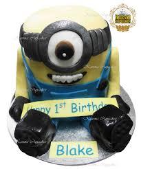 Minion 3d Birthday Cake