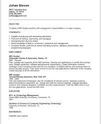 Free Download Business Systems Analyst Resume Template Document