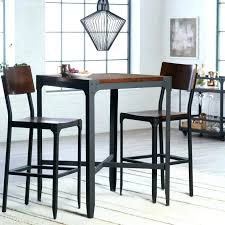 high top pub table set round bar height table kitchen pub table and chairs small round