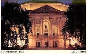 Cleveland Orchestra City Lights Cleveland Orchestra University Circle Severence Hall Night