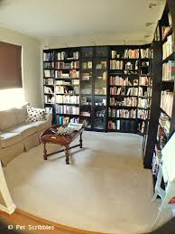 home office library. Home Office Design Library Makeover, Decor, Living Room Ideas, Organizing, Shelving