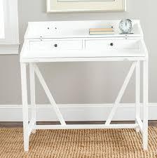 writing desk white sidetracked small white writing desk