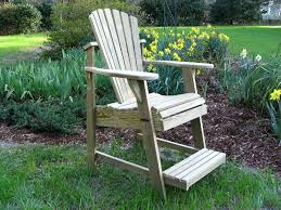 Tall Adirondack Chair Plans Gypsy Bar Height Chairs In Creative Home