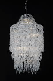 Modern Glass Chandelier Lighting As Well As Gorgeous Glass Chandelier (View  11 of 20)
