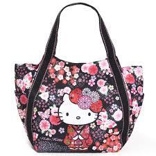 details about o kitty tote bag mother s bag kimono anese pattern sanrio saho
