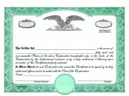 Shareholder Certificate Template Share Certificate Template Companies House 8111
