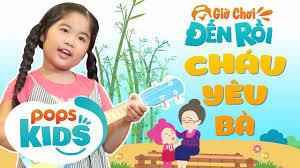 spades card game: POPS Kids [S2] Giờ Chơi Đến Rồi Tập 3 - Cháu Yêu Bà - Bé  Hồng Ân - Nhạc Thiếu Nhi Hay Cho Bé