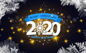 Wallpaper Of Happy New Year Merry Christmas New Year 2020