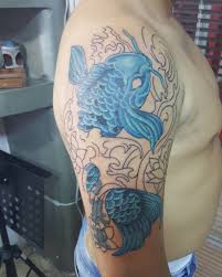 65 Japanese Koi Fish Tattoo Designs Meanings True Colors 2019