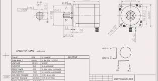 Stepper Motor Size Chart Nema Motor Frame Size Chart Flowerxpict Co
