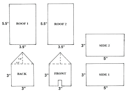 Gingerbread House Pattern Free Gingerbread House Templates