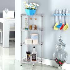 Wire Racks For Kitchen Storage 4 Tier Wire Shelving Rack Metal Shelf Adjustable Corner Garage