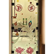 toughened glass temple partition design