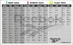 Reebok Size Chart Jual Size Chart Shoes Adidas Reebok Nike Puma Dll Kota Surabaya Chipcupshop Tokopedia