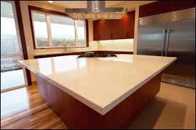 beige quartz solid surface counter tops  kitchen and beyond