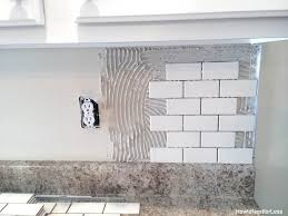 Install Backsplash Delectable How To Install A Backsplash The Budget Decorator