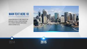Clean Corporate Timeline - After Effects Templates | Motion Array