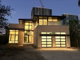 luxury insulated glass garage doors