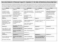 Ap World History Period 1 Spice Chart Ap World Study Guide
