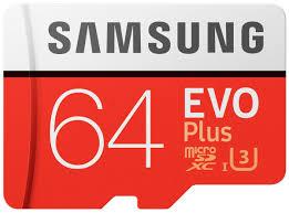 64ГБ <b>Карта памяти Samsung</b> MicroSDXC EVO Plus + SD адаптер ...