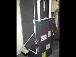 goodman high efficiency gas furnace installation