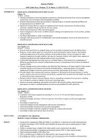 Business Administration Resume Samples Research Administration Resume Samples Velvet Jobs 28