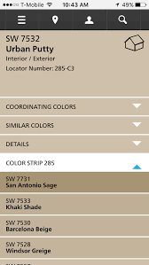 Sherwin Williams Urban Putty In 2019 Interior Paint Colors