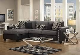 black fabric sectional sofas. Interesting Fabric Black Fabric Sectional Sofa In Sofas T