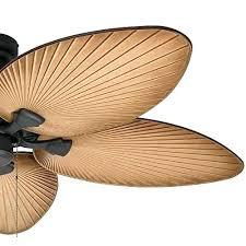 leaf blade ceiling fan outdoor palm leaf ceiling fan prominence home palm island tropical ceiling fan