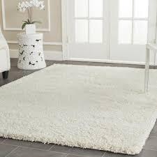 white shag rug. Safavieh California White Shag Rug (SG151) - Ivory Alternate Image S