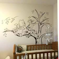 winnie the pooh wall art classic the pooh wall decals with the pooh wall stickers vintage