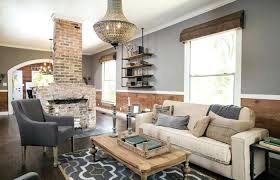 designs living room scheme decoration medium size brick fireplace corner farmhouse living room above decor photo of