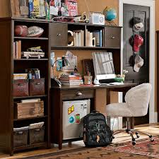 Teen Room Designs: Boys Study Space Dark Desk - Pb Teen