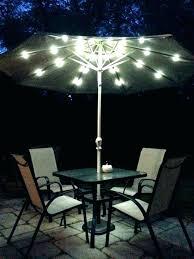 umbrella with led lights patio umbrella led light black led umbrella with amazing offset patio umbrella fisher rectangular offset solar light