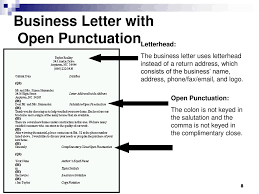 how to open a business letter apply correct letter format ppt video online download