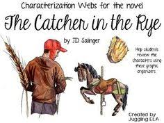 the catcher in the rye symbolism analysis five paragraph essay  characterization webs for the novel the catcher in the rye by j d salinger