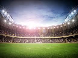 Fotobehang Voetbal Stadion De Fabriek Muurstickers