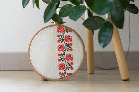 Modern Cross Stitch Patterns Amazing Modern Cross Stitch Pattern Modern Ukrainian Flower Ornament