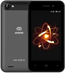 Мобильный <b>телефон Digma Linx</b> Atom 3G (темно-серый)