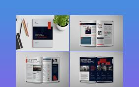 40 Annual Report Templates With Awesome InDesign Layouts Classy Annual Report Template Design